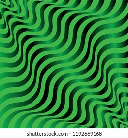 colored wavy abstrct