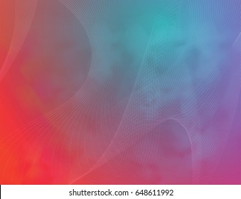 Colorful abstract background. Network background. Abstract spider web.