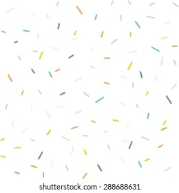 Colorful Abstract Confetti Background Pattern Vector