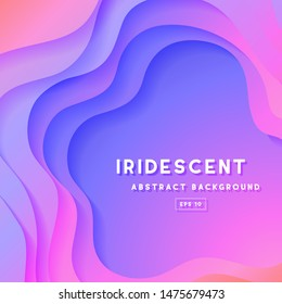 Colorful Abstract Gradient Background - Colorful abstract gradient background with fluid shapes and copy space. Trendy style, bright colors and fluid shapes make this design stand out in a crowd.