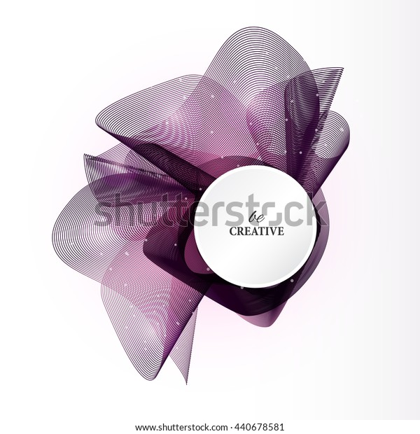 Colorful abstract  grid texture. Vector violet design background.