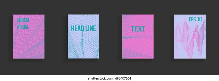 Colorful abstract template embraces design. Steep gradients. The future geometric pattern for the design of a banner, a poster, a notebook, a book.