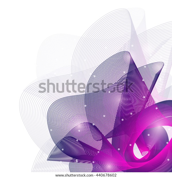 Colorful abstract texture. Vector design background. Violet grid.