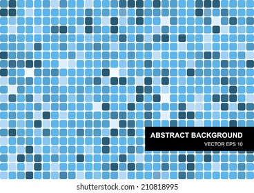 Colorful abstract vector mosaic geometric background for use in design