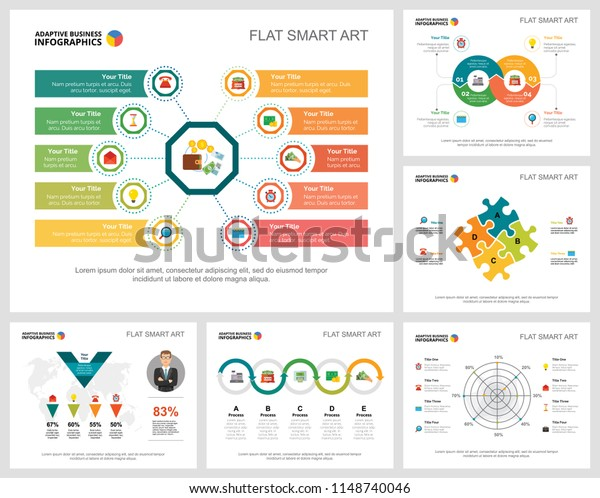 Colorful Analytics Consulting Concept Infographic Charts
