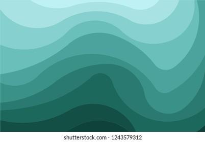 Colorful asymmetry pattern