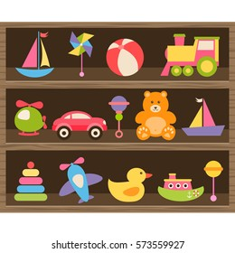 Colorful baby toys