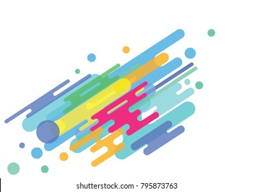 Colorful Background, Abstract Background. modern design. pop style. transparent.