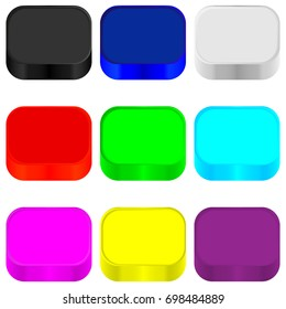 Colorful background for icons.