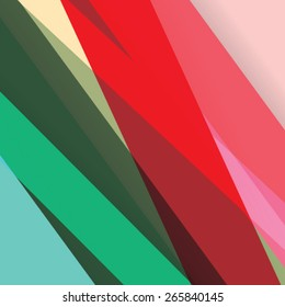 Colorful background made of various stripes. Design template for business brochures, flyers, posters and invitations. Vector