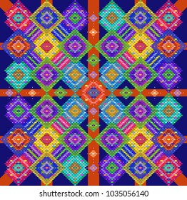 Colorful background - Mexican style