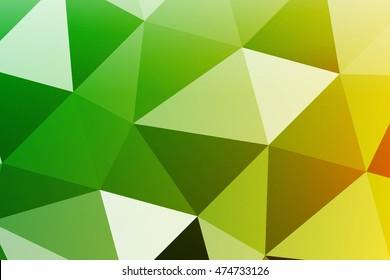 Colorful banner. Beautiful summer colors. Polygonal design. For design websites, business presentations, printing.
