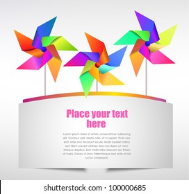 Colorful banner, vector