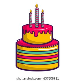 Swell Birthday Cake Cartoon Images Stock Photos Vectors Shutterstock Funny Birthday Cards Online Inifodamsfinfo