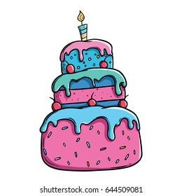 cake cartoon images stock photos vectors shutterstock rh shutterstock com cartoon cake images free download cartoon cake images with name