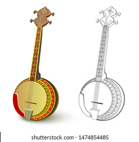 African String Instrument Images, Stock Photos & Vectors