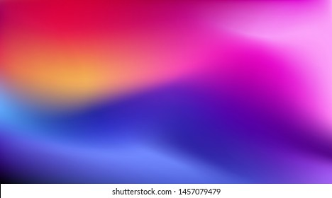 Colorful Blurred magenta purple pink background. Abstract Soft gradient backdrop with place for text. Vector illustration for your graphic design, banner, poster, themes