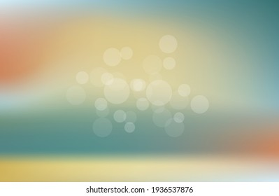 Colorful bokeh background blur,holiday wallpaper. abstract background summer, spring.vector illustration