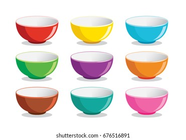 The Colorful of Bowl