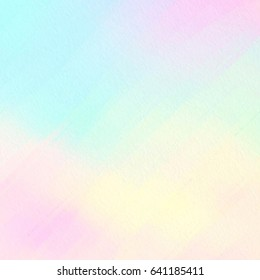 Colorful bright stylized watercolor smudges vector card for text design, wallpaper. Abstract brush paint yellow pink orange blue green color background for banner, web, print