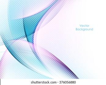 colorful bright vector background with copy space. Wavy lines, dotted texture. Eps10