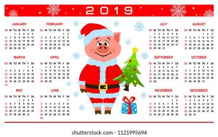 M s christmas gifts 2019 calendar