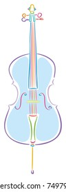 Colorful Cello