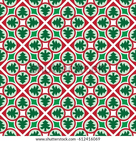 colorful christmas themed background pattern stock vector royalty