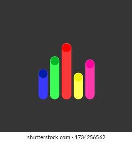 colorful creative logo vector illustration
