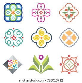 Colorful Decorative Elements