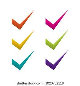 colorful design checklist