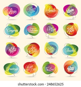 Colorful Design Element and Abstract Web Icon and logo Vector Symbol. Unusual icon and sticker set. Graphic design easy editable for Your design.
