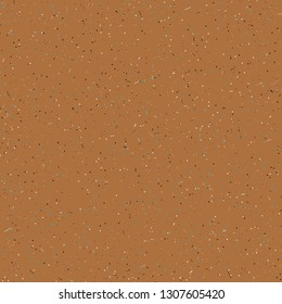 Colorful, dusty, speckled seamless texture, background.