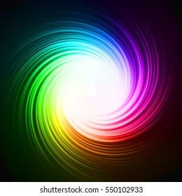 colorful energy vortex