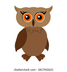 Owl Cartoon Drawing Hd Stock Images Shutterstock