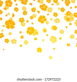 Colorful flowers - vector