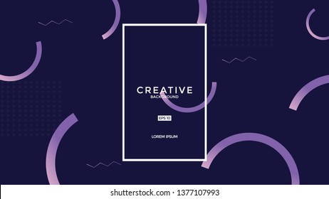 Colorful fluid background. Fluid shapes. Eps10 vector