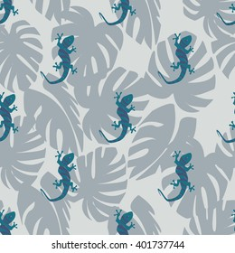 Colorful gecko pattern