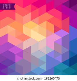 colorful geomerical background