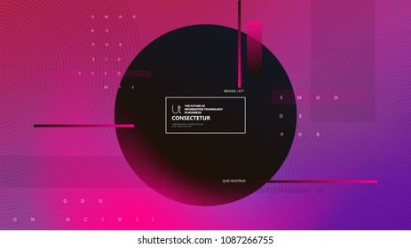 Colorful geometric abstract background. Fluid shapes composition. Applicable for flyer, cover annual report, placards, brochures, posters, banners. Vector illustrations.