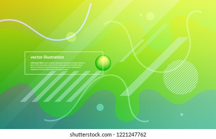 Colorful geometric background. Fluid color shapes composition. Abstract vector illustration.