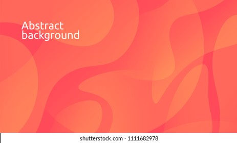 Colorful geometric background. Fluid shapes composition. Eps10 vector.