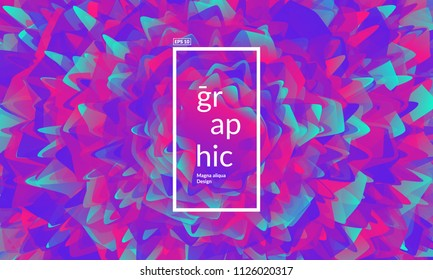 Colorful geometric background. Colorful shapes composition. Eps10 vector.