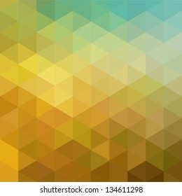 Colorful geometric background with triangles. Vector EPS 10.