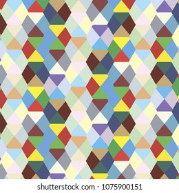 Colorful geometric triangle background template
