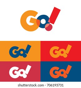 Colorful Go Logo