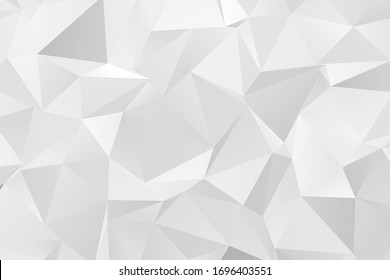 Colorful grey color geometric rumpled triangular low poly style gradient illustration graphic background. Polygonal design for your business. Vector illustration eps 10.