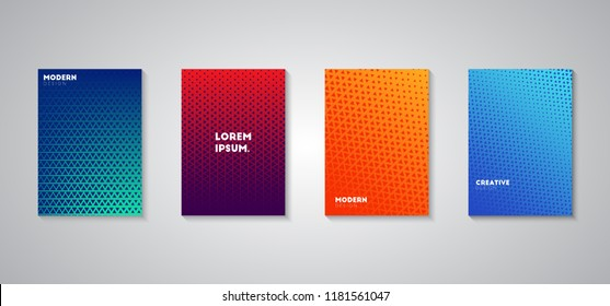 Colorful halftone gradients, colorful cover gradient, cool backgrounds, gradient background, minimal design