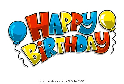 Happy Birthday Logo Images Stock Photos Vectors Shutterstock