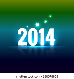 colorful happy new year vector design